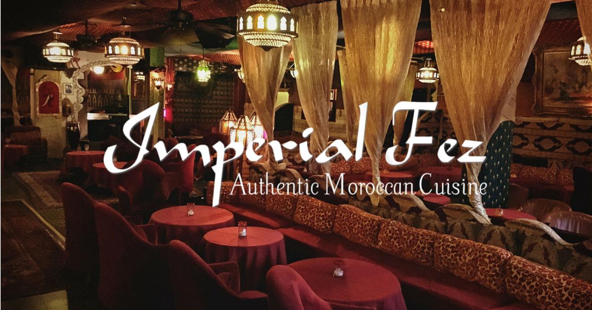 Imperial Fez Drink Menu